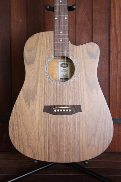 Ashton D20CEQOV Dreadnought Cutaway Acoustic Guitar
