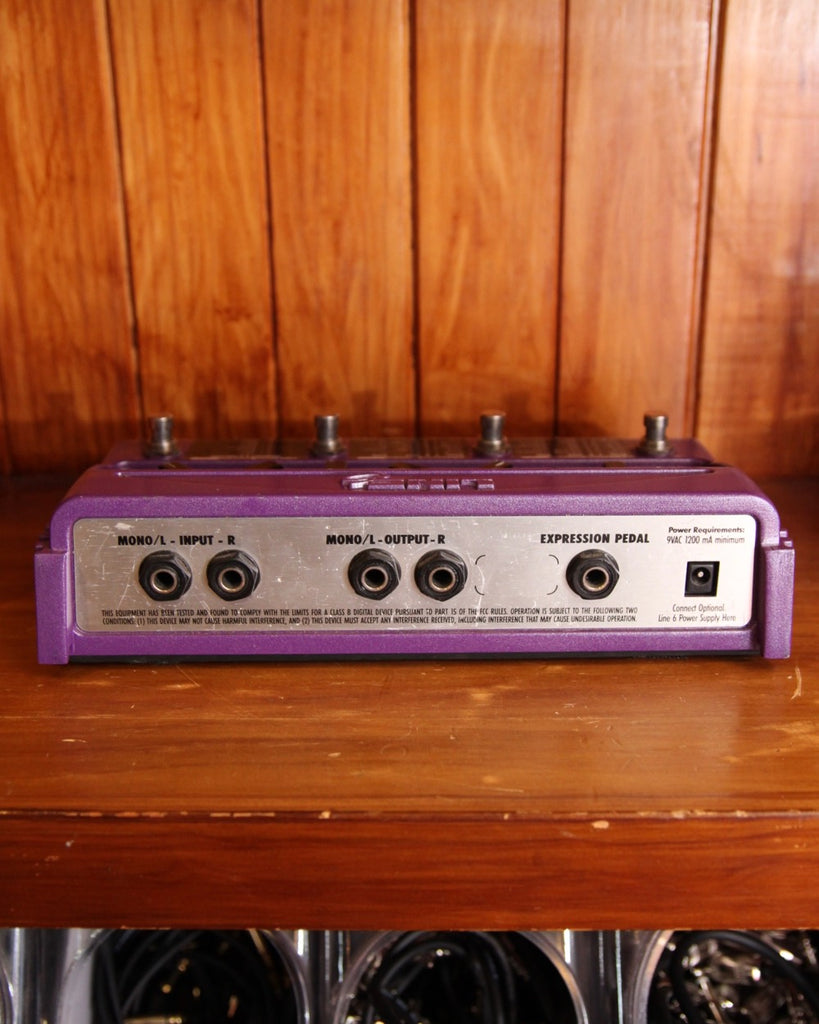Line 6 FM-4 Filter Modeling Pedal Pre-Owned