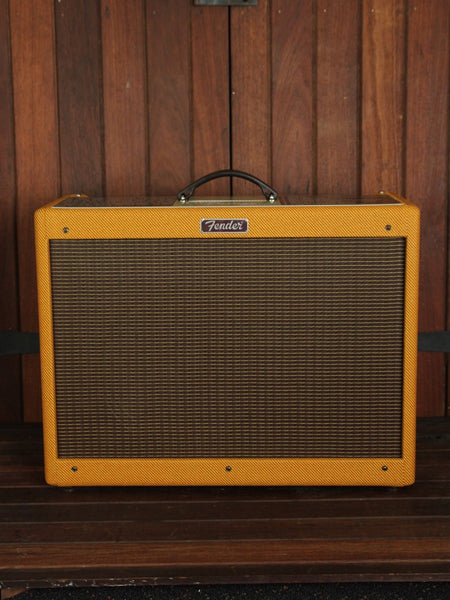 *NEW ARRIVAL* Fender Blues Deluxe Tweed 40W 1x12 Valve Guitar Amplifier - The Rock Inn