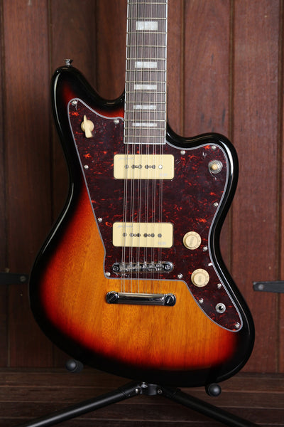 Revelation RJT-60/12 Electric 12-String Guitar Sunburst