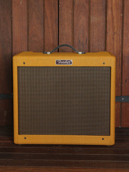 *NEW ARRIVAL* Fender Blues Junior Lacquered Tweed 15W 1x12 Combo
