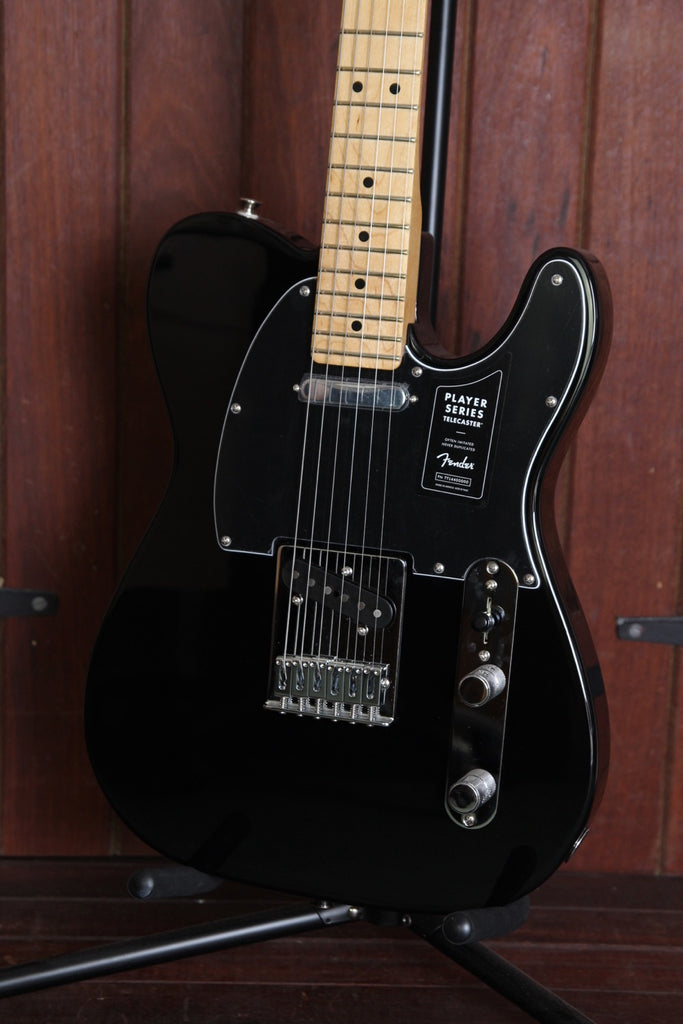 Fender Player Series Telecaster Black Maple Electric Guitar