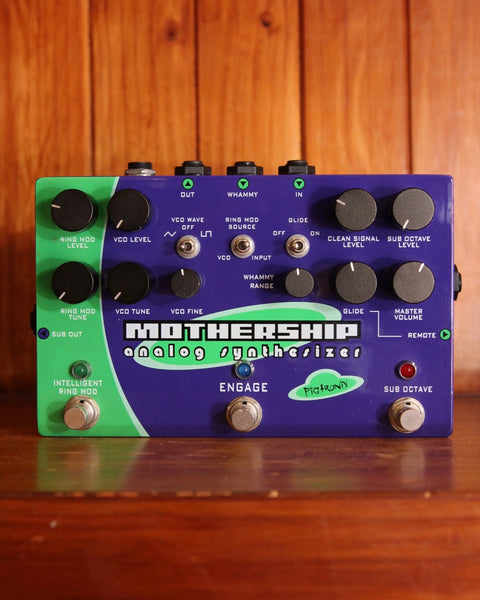 Pigtronix Mothership Analog Synthesizer Pedal Pre-Owned