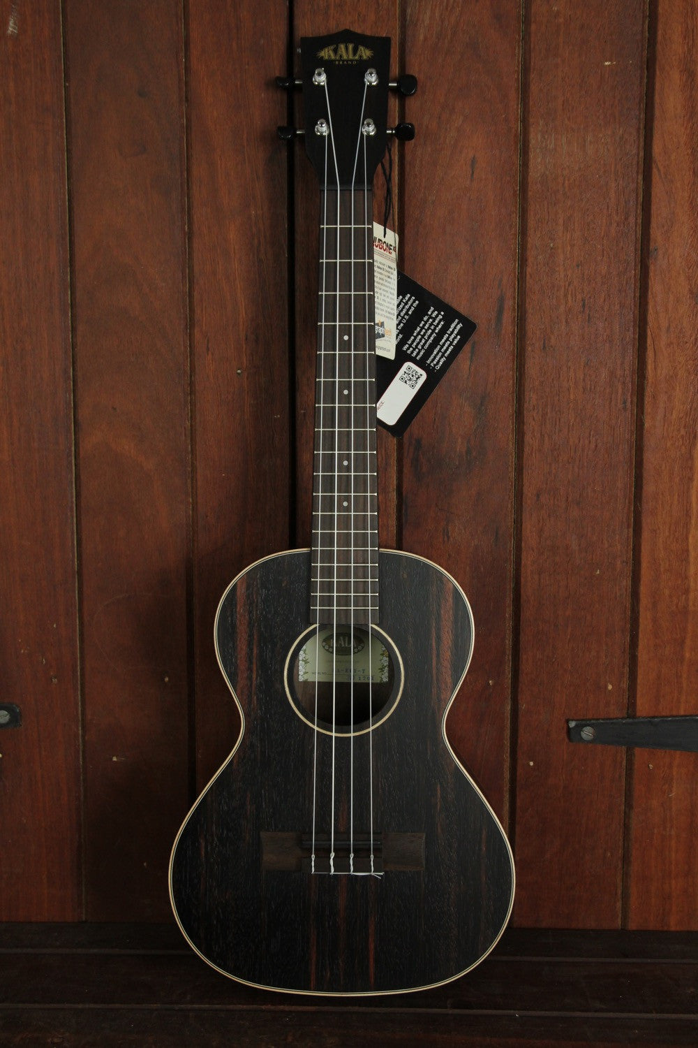 *NEW ARRIVAL* Kala KA-EBY-T Ebony Tenor Ukulele Natural - The Rock Inn