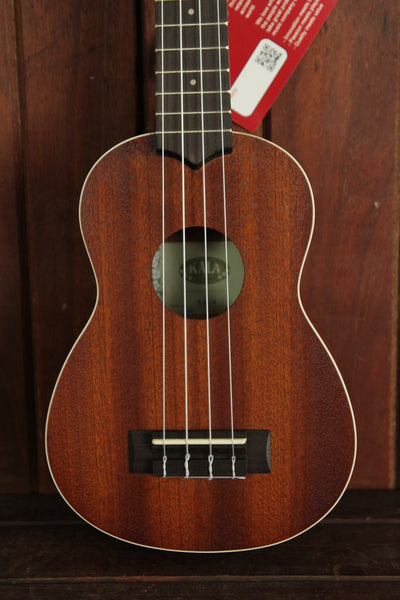 Kala KA-S Soprano Satin Mahogany Ukulele - The Rock Inn