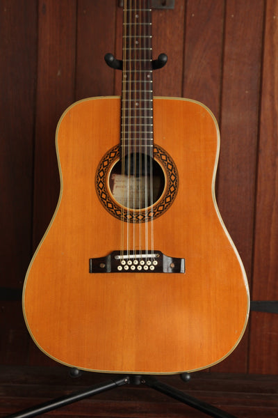 *NEW ARRIVAL* EKO J-66 Vintage Dreadnought 12-string Acoustic Guitar Pre-Owned
