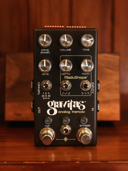 Chase Bliss Audio Gravitas Analog Tremolo Pedal - The Rock Inn - 1