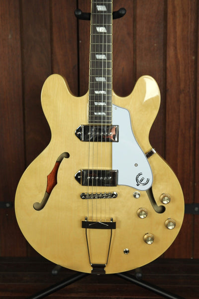 Epiphone Casino Hollowbody Electric Guitar Natural - The Rock Inn