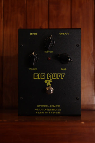 Electro-Harmonix Big Muff Pi Fuzz Black Russian Pre-Owned
