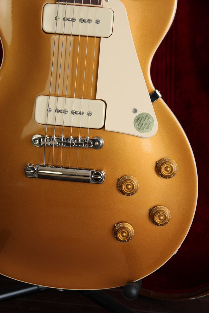 Gibson Les Paul Standard '50s P90 Gold Top Electric Guitar