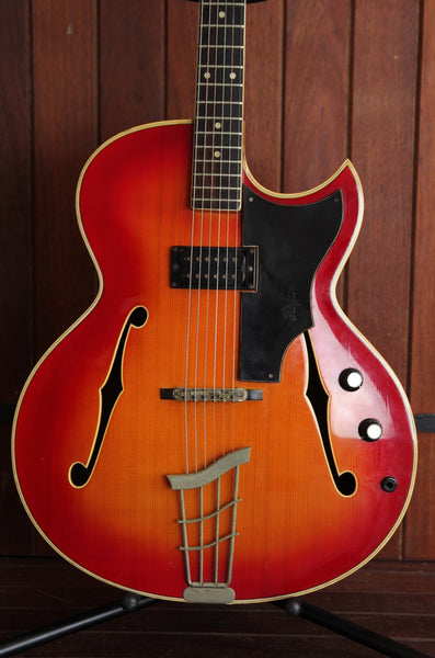 Hofner 477 Hollowbody Sunburst Electric Guitar Pre-Owned