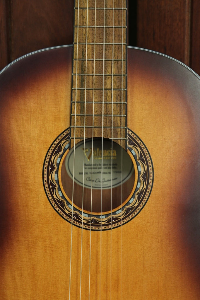 Valencia 300 Series Classical Nylon Acoustic Guitar VC304