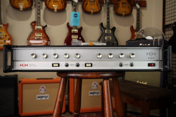 HH IC100-S Vintage Solid State Amplifier Head Pre-Owned