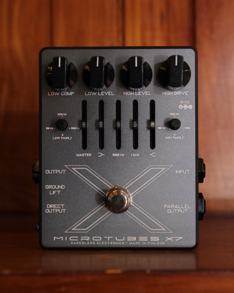 Darkglass Microtubes X7 Bass Preamp Distortion Pedal