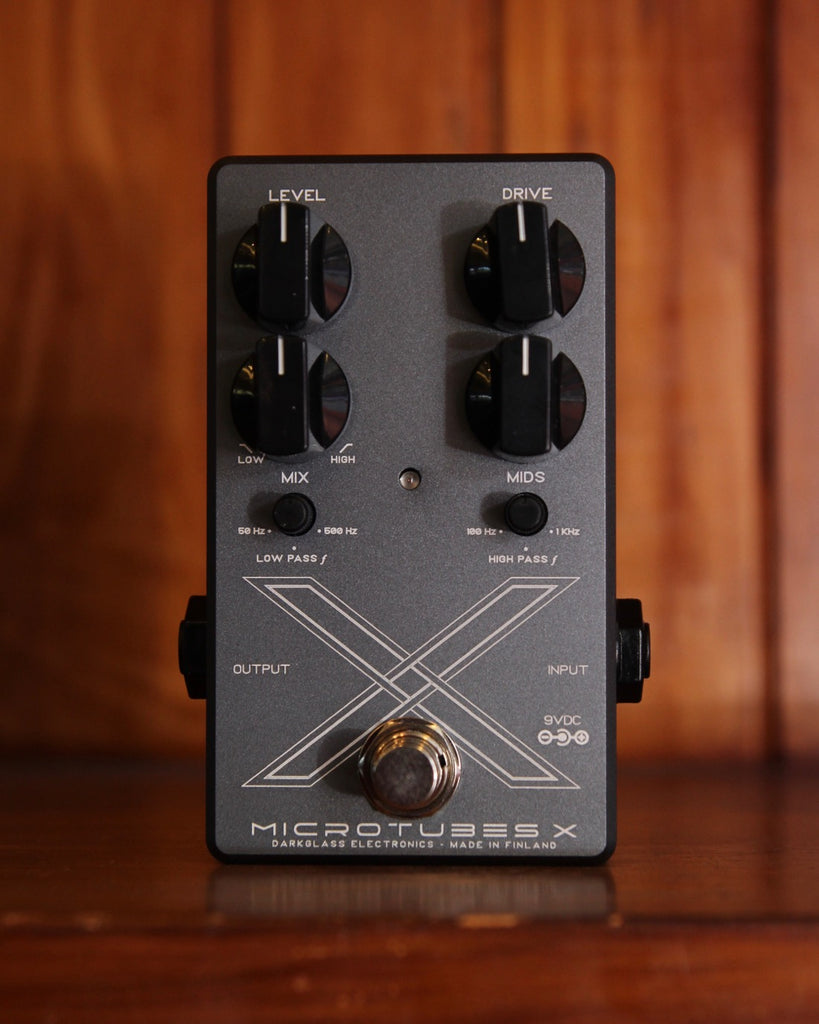 Darkglass Microtubes X Bass Preamp Distortion Pedal