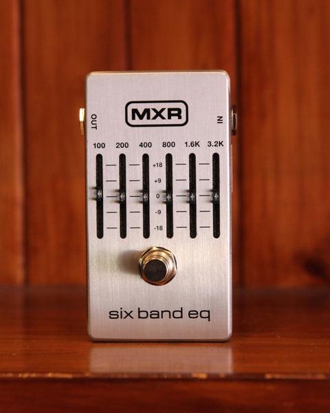 *NEW ARRIVAL* MXR M-109S 6-Band Graphic EQ Pedal