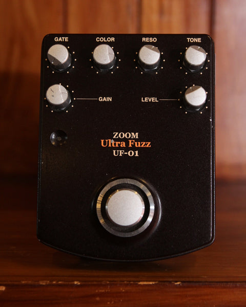 Zoom UF-01 Ultra Fuzz Pedal Made In Japan Pre-Owned