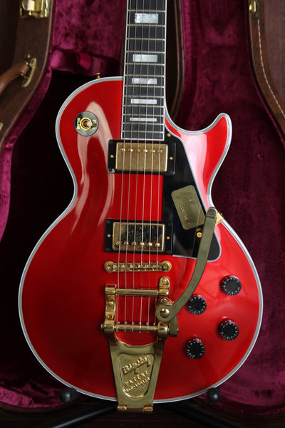 Gibson Custom Les Paul Custom Red Sparkle Bigsby Pre-Owned
