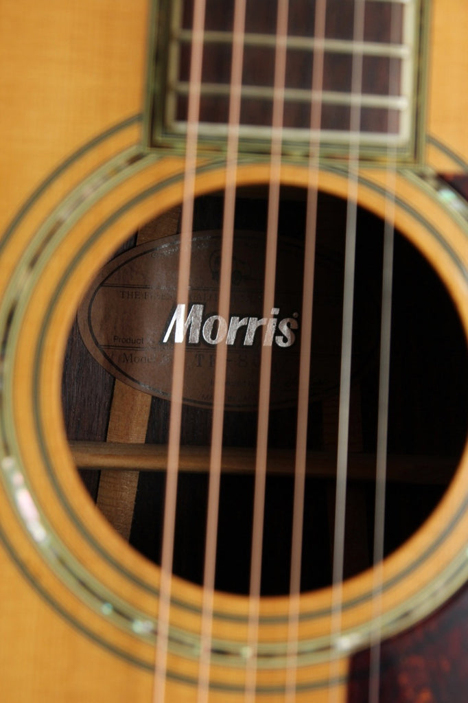 Morris TF-80 Acoustic Dreadnought Made in Japan Pre-Owned