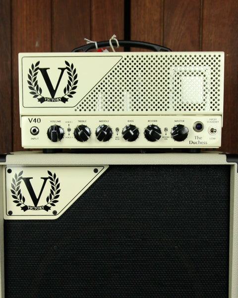 Victory Amplification V40H The Duchess Valve Head EL34 - The Rock Inn - 1