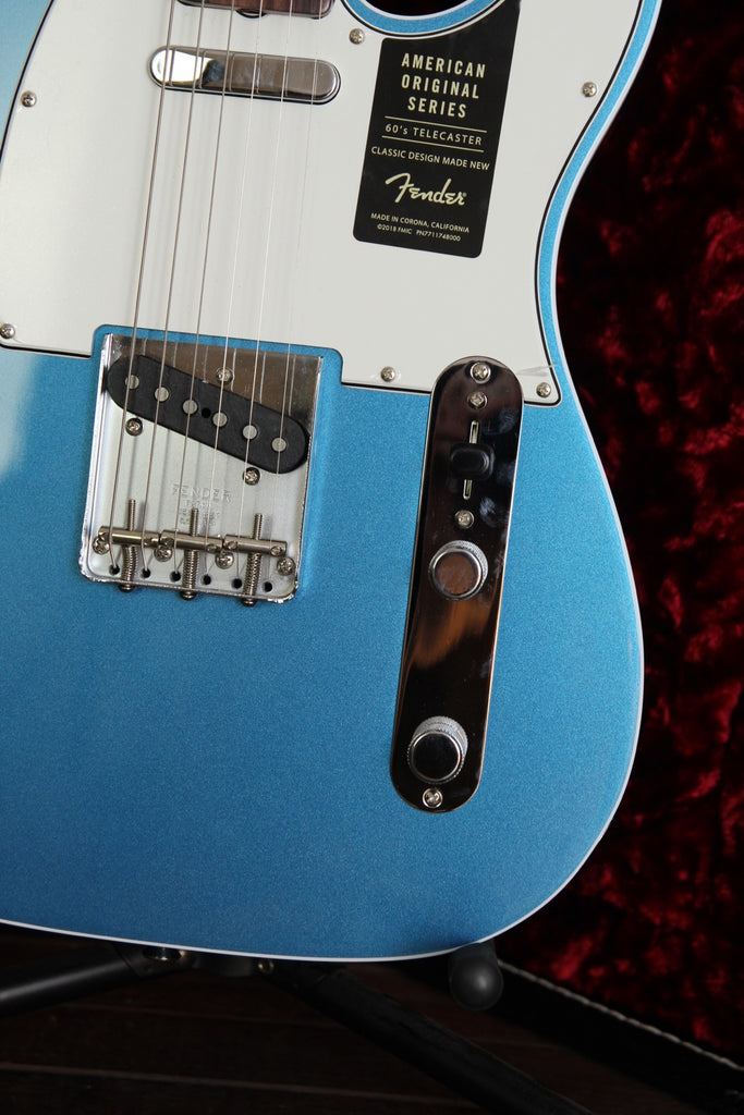 Fender American Original 60's Telecaster Lake Placid Blue