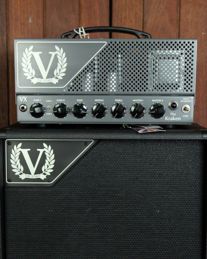 Victory Amplification VX The Kraken 50w Head 6L6 - The Rock Inn - 1