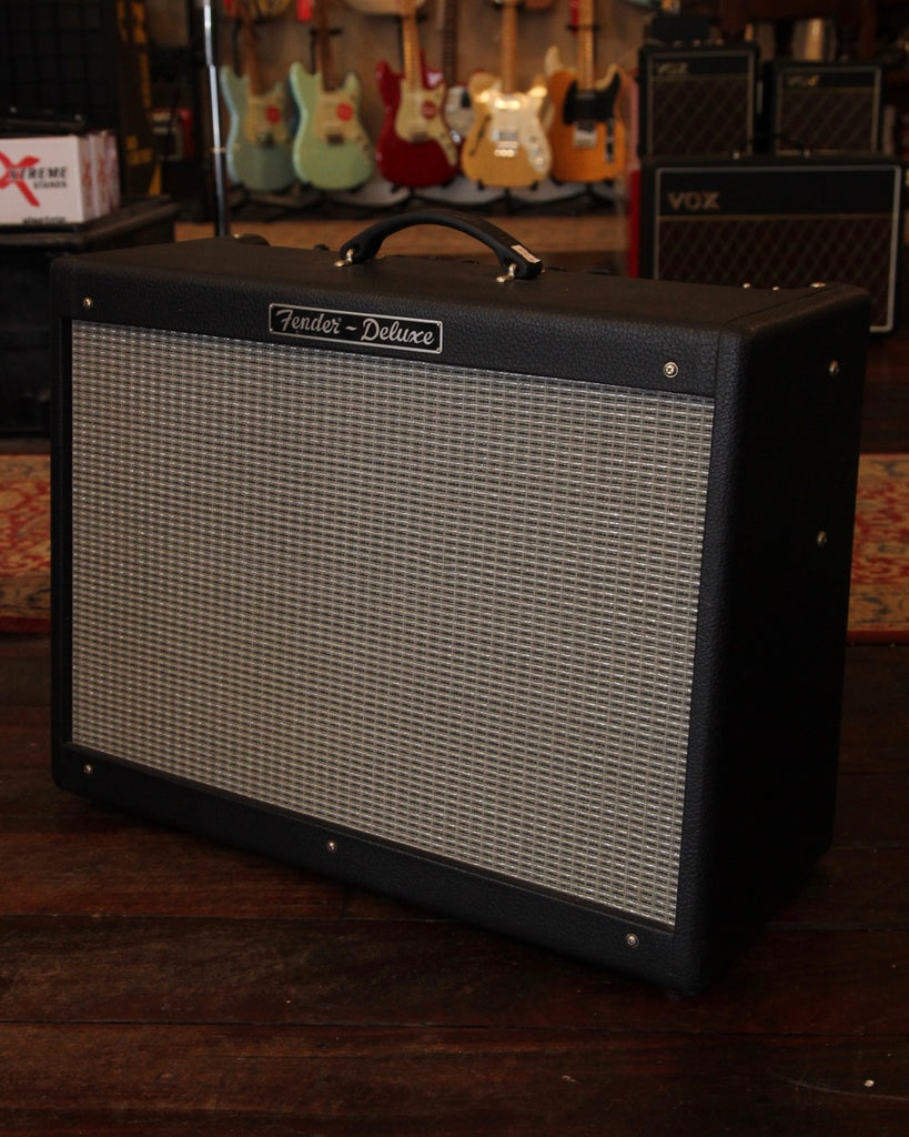 fender hot rod deluxe 40w 1x12 valve combo pre owned the rock inn. Black Bedroom Furniture Sets. Home Design Ideas