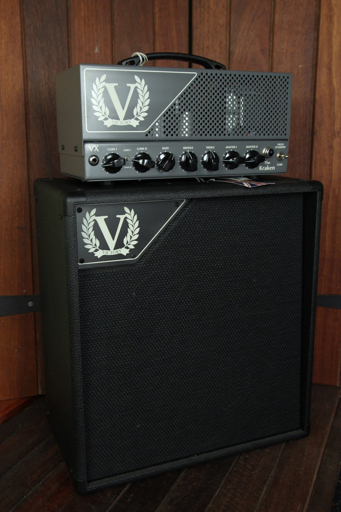 Victory Amplification VX The Kraken 50w Head 6L6 - The Rock Inn