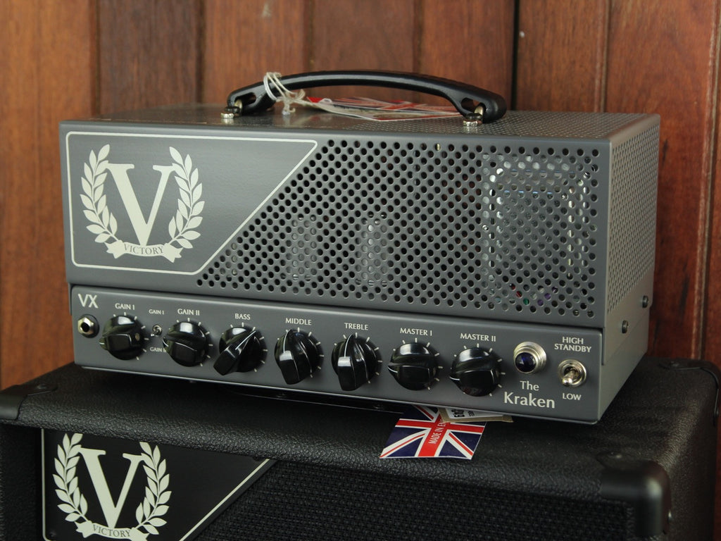 Victory Amplification VX The Kraken 50w Head 6L6 - The Rock Inn - 7