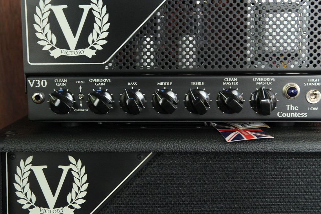 Victory Amplification V30H The Countess Valve Head 6L6 - The Rock Inn
