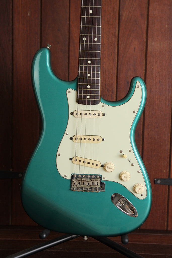Fender MIJ Stratocaster Sherwood Green Upgraded 1993 Pre-owned