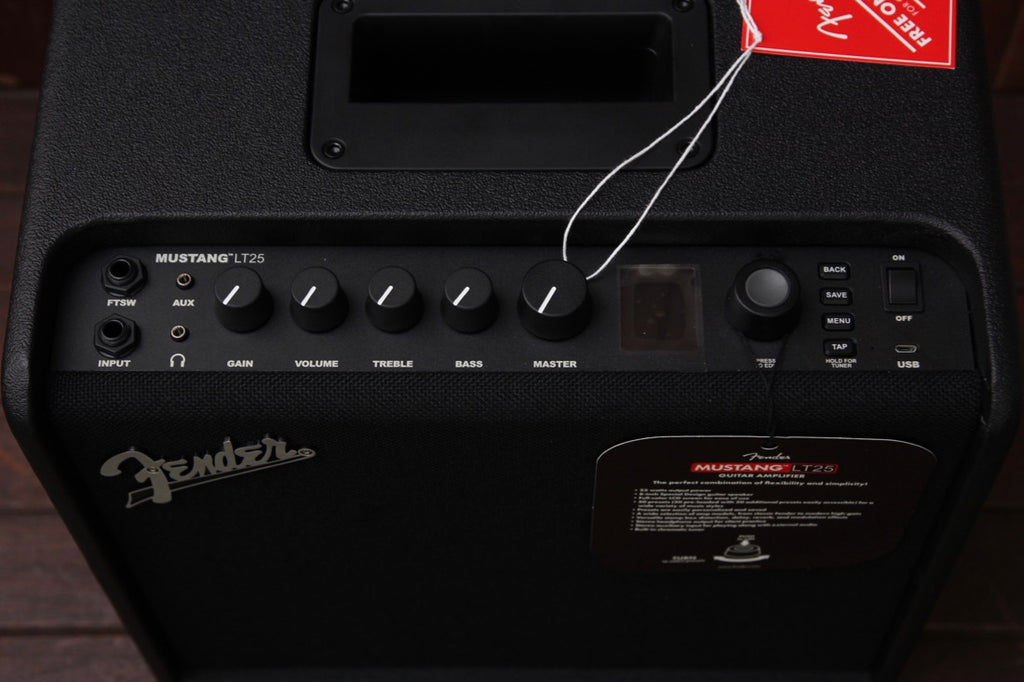 Fender Mustang LT25 Guitar Combo Amplifier