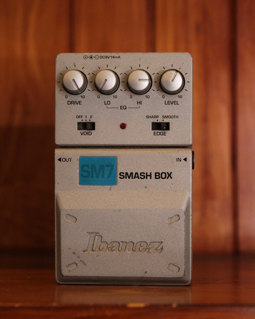 Ibanez SM7 Smash Box Distortion Pedal Pre-Owned