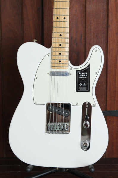 Fender Player Series Telecaster White Maple Electric Guitar