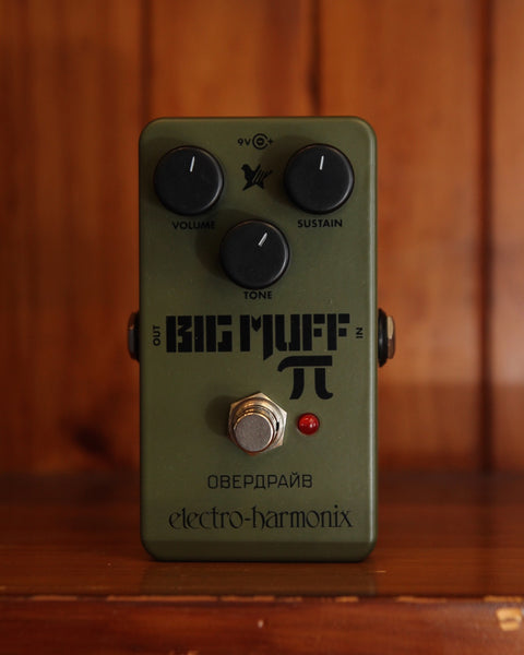 *NEW ARRIVAL* Electro-Harmonix Green Russian Big Muff Fuzz