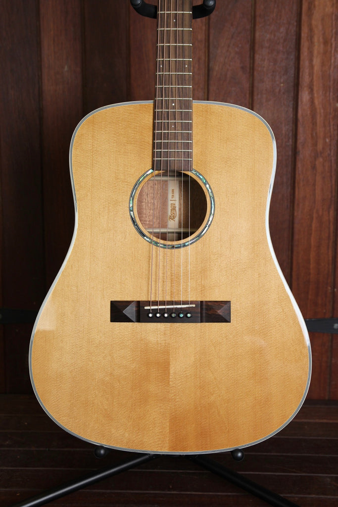 Tasman TA100 Acoustic Guitar with Case