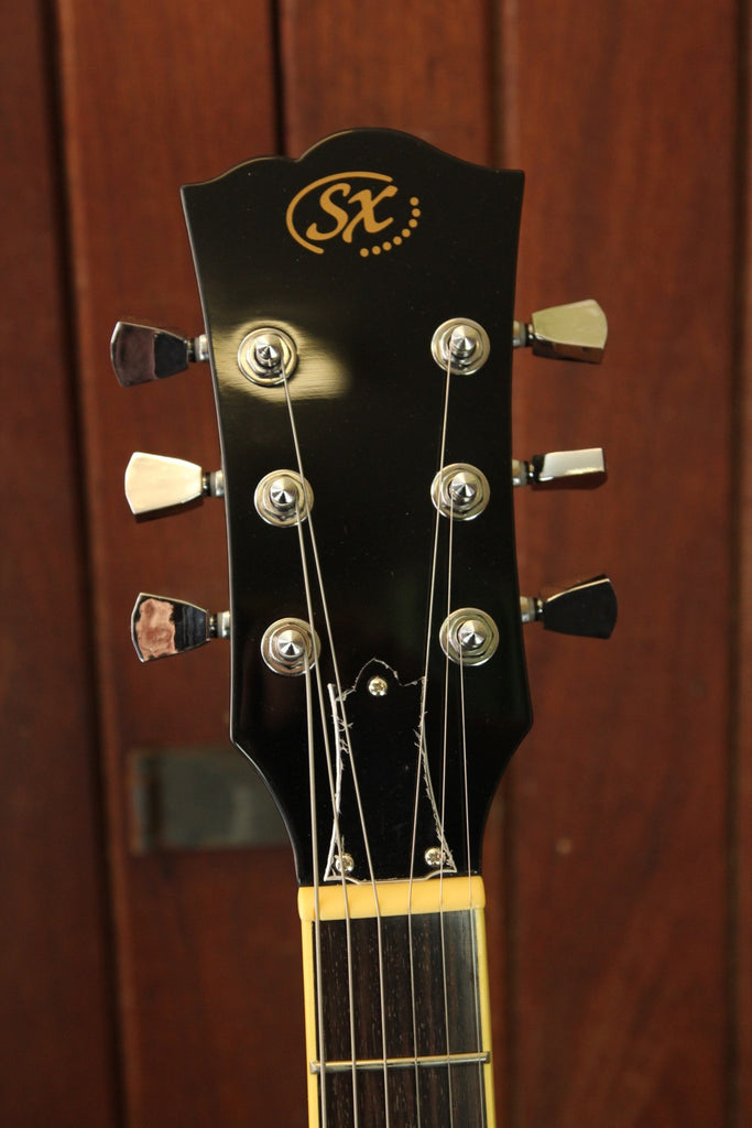 SX Vintage LP Style Electric Guitar Vintage Sunburst & Accessories - The Rock Inn