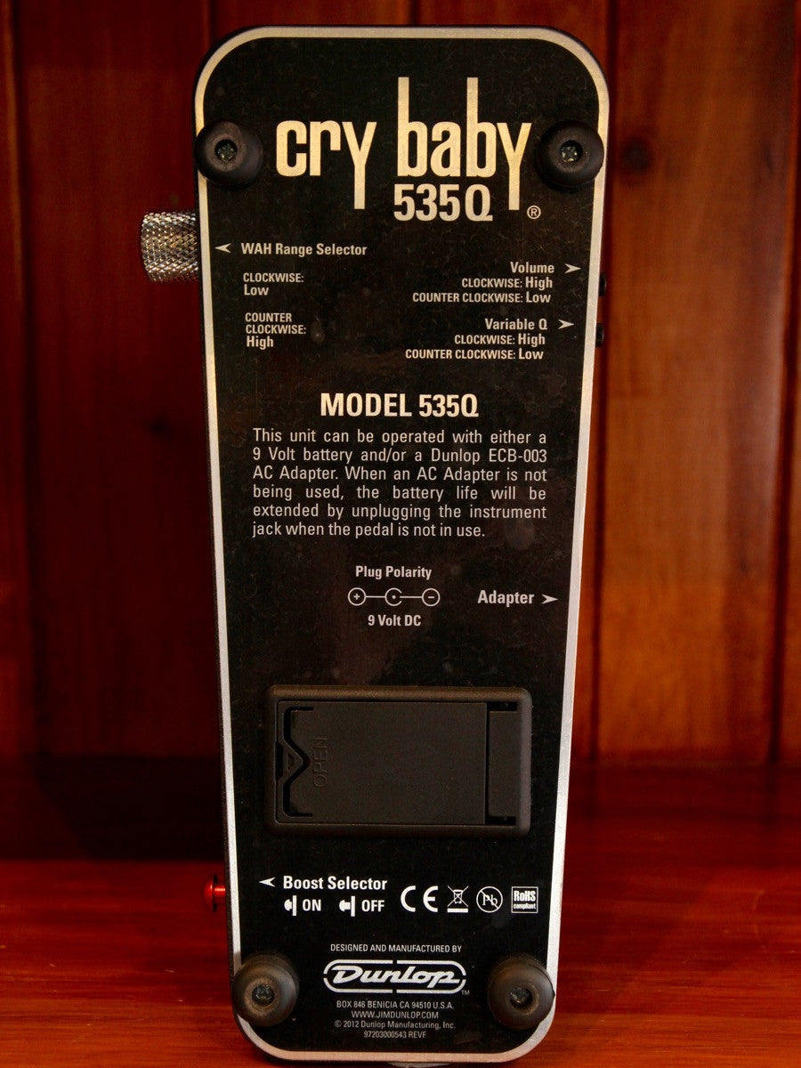 Dunlop Crybaby 535Q Multi-Wah Pedal