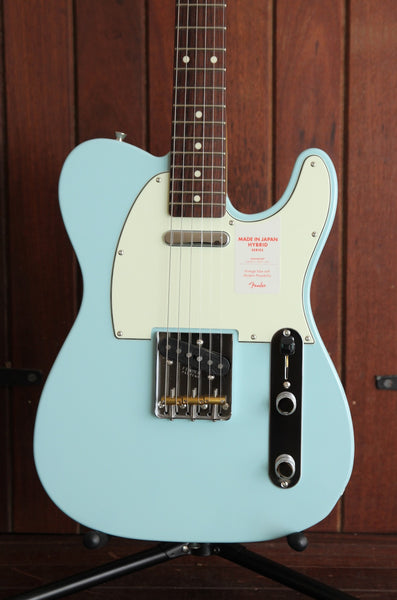 Fender Hybrid 60's Telecaster Guitar Made in Japan Sonic Blue