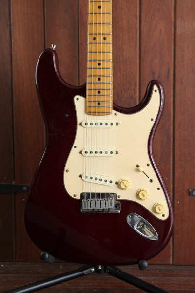 Fender USA Stratocaster 1993 Midnight Wine / Burgundy Red Pre-Owned