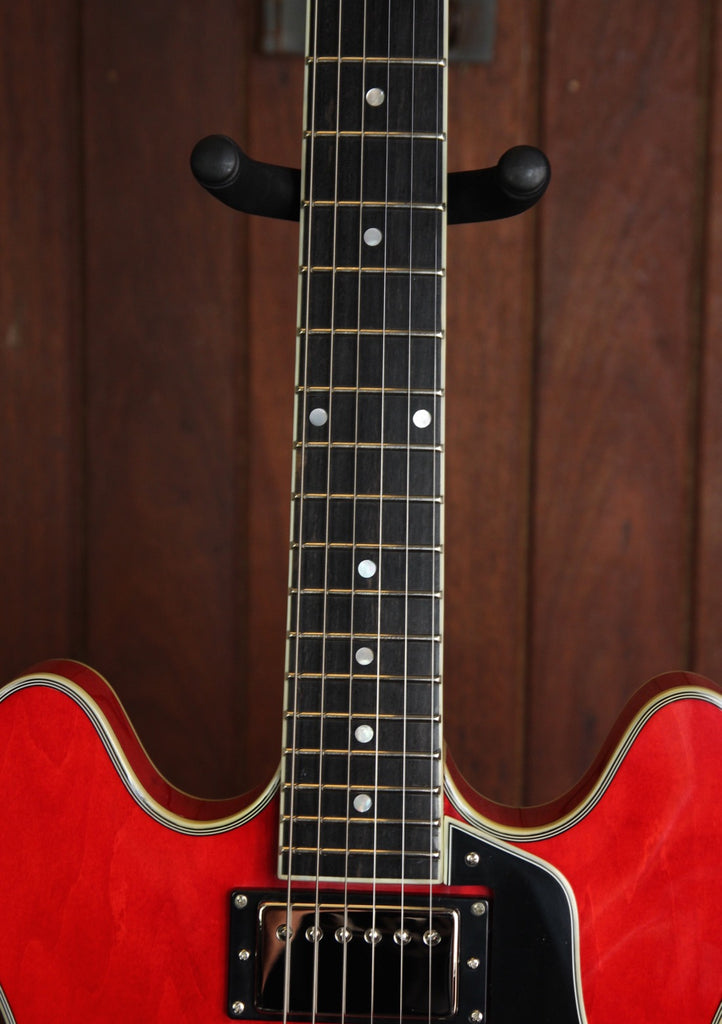 Eastman T386 Semi-Hollow Electric Guitar Red