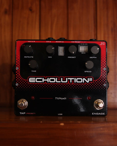 Pigtronix Echolution 2 Delay Pedal Pre-Owned