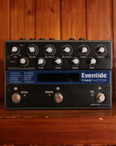 Eventide Timefactor Delay Pedal Pre-Owned