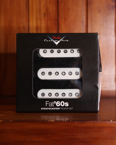 Pickup - Fender Custom Shop Fat '60s Strat Pickup Set