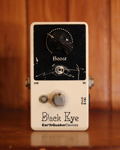 Earthquaker Devices Black Eye Boost Pedal Pre-Owned