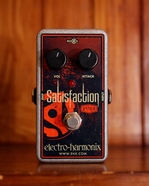 Electro-Harmonix Satisfaction Fuzz Guitar Effects Pedal Pre-Owned