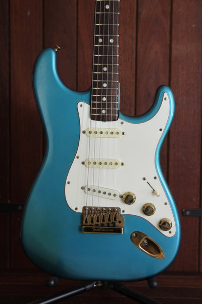 Fender 1980 The Strat Electric Lake Placid Blue Vintage Electric Guitar