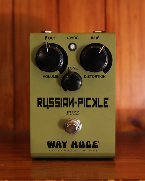 Way Huge Electronics Russian Pickle Fuzz Pedal - The Rock Inn