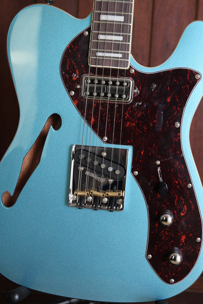 Revelation TSS Thinline Short Scale Semi-Hollow Electric Guitar