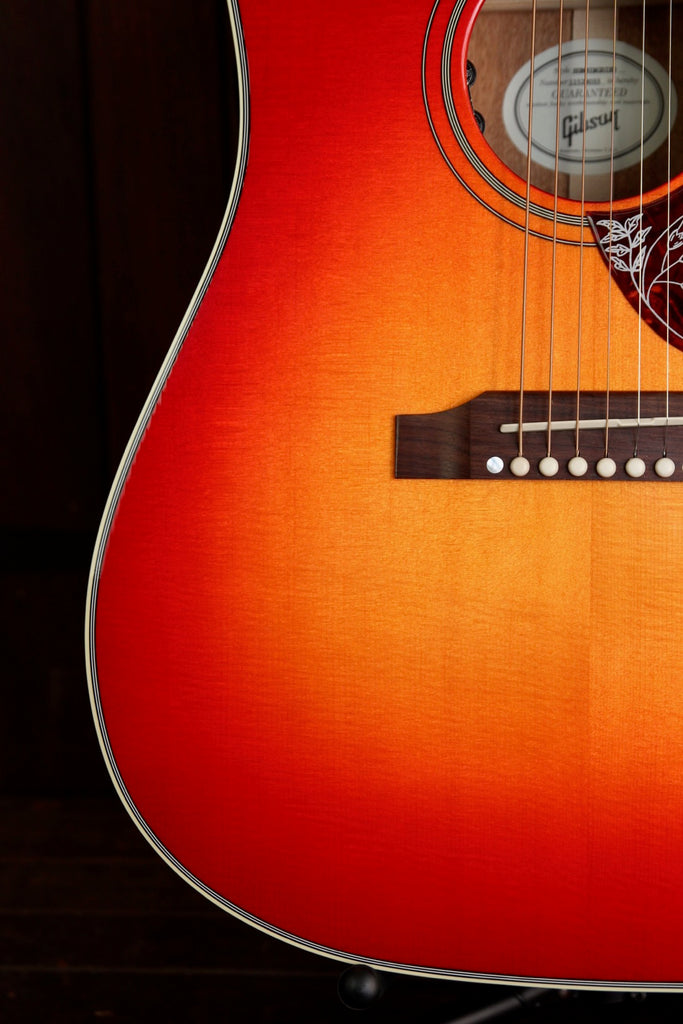 Gibson Hummingbird Heritage Burst Acoustic-Electric Guitar